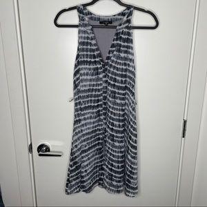 🎁4/20$🎁 grey tie dye flowy dress